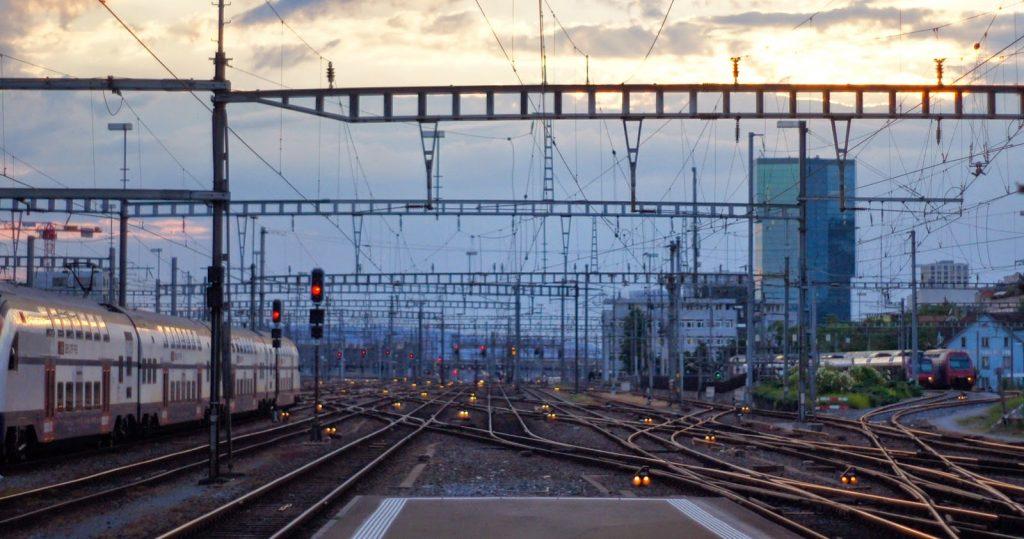 Zurich mainstation track field